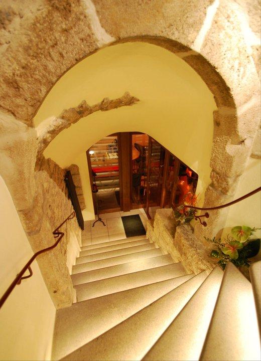 Treppenabgang Bar